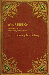 Catalog 340 - A Literary Miscellany, Largely Recent Acquisitions