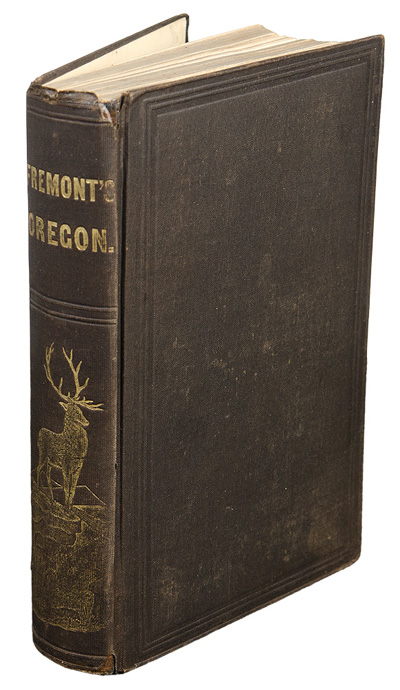 NARRATIVE OF THE EXPLORING EXPEDITION TO THE ROCKY MOUNTAINS, IN THE YEAR 1842; AND TO OREGON AND NORTH CALIFORNIA, IN THE YEARS 1843-44. John C. Fremont.