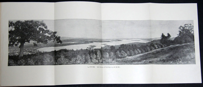 LAKES AND SUMMER RESORTS IN NEW HAMPSHIRE. N. J. Bachelder.