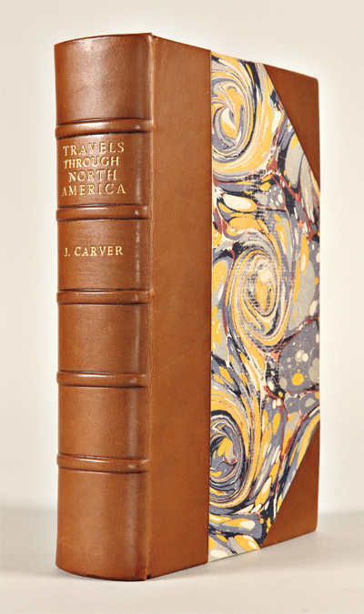 TRAVELS THROUGH THE INTERIOR PARTS OF NORTH AMERICA, IN THE YEARS 1766, 1767, AND 1768. Jonathan Carver.