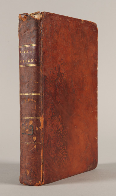 MEMOIRS OF THE LIFE AND CAMPAIGNS OF THE HON. NATHANIEL [sic] GREENE. Charles Caldwell.