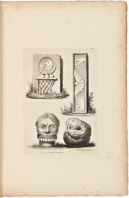 ANTIQUITIES OF MEXICO: COMPRISING FAC-SIMILES OF ANCIENT MEXICAN PAINTINGS AND HIEROGLYPHICS...TOGETHER WITH THE MONUMENTS OF NEW SPAIN...THE WHOLE ILLUSTRATED BY MANY VALUABLE INEDITED MANUSCRIPTS BY AUGUSTINE AGLIO...VOL. IV. Guillermo Dupaix.