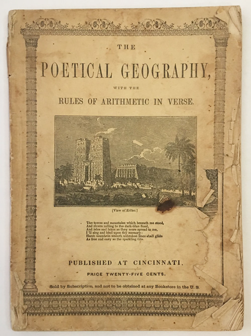 THE POETICAL GEOGRAPHY, DESIGNED TO ACCOMPANY OUTLINE MAPS OR SCHOOL ATLASES. George Van Waters.