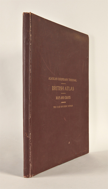 ALASKAN BOUNDARY TRIBUNAL. BRITISH ATLAS MAPS AND CHARTS ACCOMPANYING THE CASE OF GREAT BRITAIN. Alaskan Boundary Tribunal.