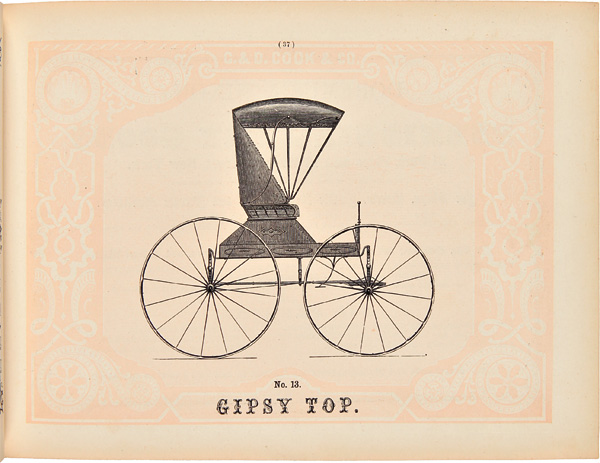 G. & D. COOK & CO.'S ILLUSTRATED CATALOGUE OF CARRIAGES AND SPECIAL BUSINESS ADVERTISER. G. Cook, D.