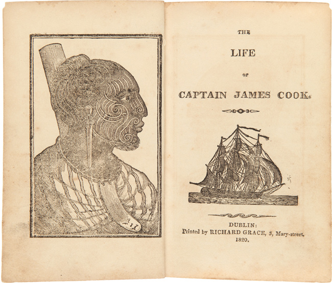 THE LIFE OF CAPTAIN JAMES COOK. James Cook.