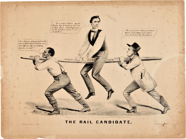 The Rail Candidate Abraham Lincoln