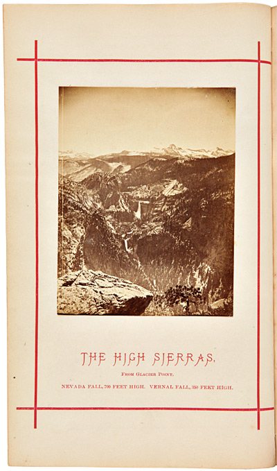 """A JOURNAL OF RAMBLINGS THROUGH THE HIGH SIERRAS OF CALIFORNIA BY THE """"UNIVERSITY EXCURSION PARTY."""" Joseph Le Conte."""