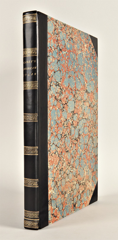 A COMPLETE HISTORICAL, CHRONOLOGICAL, AND GEOGRAPHICAL AMERICAN ATLAS, BEING A GUIDE TO THE HISTORY OF NORTH AND SOUTH AMERICA, AND THE WEST INDIES: EXHIBITING AN ACCURATE ACCOUNT OF THE DISCOVERY, SETTLEMENT, AND PROGRESS, OF THEIR VARIOUS KINGDOMS, STATES, PROVINCES, &c. TOGETHER WITH THE WARS, CELEBRATED BATTLES, AND REMARKABLE EVENTS, TO THE YEAR 1822. Henry Charles Carey, Isaac Lea, publishers.