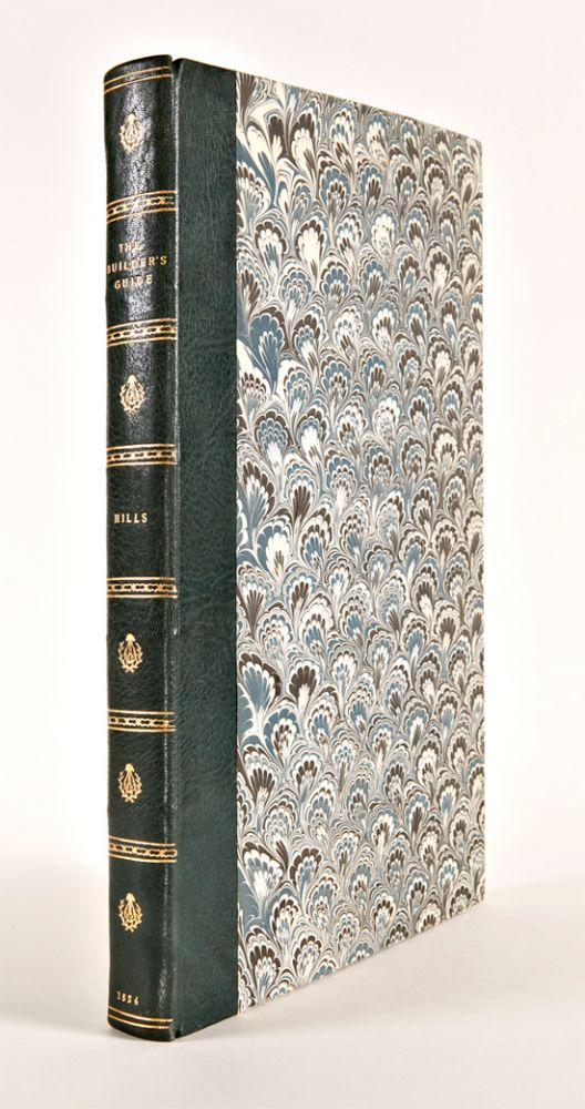 THE BUILDER'S GUIDE; OR A PRACTICAL TREATISE ON THE SEVERAL ORDERS OF GRECIAN AND ROMAN ARCHITECTURE, TOGETHER WITH THE GOTHIC STYLE OF BUILDING...ILLUSTRATED AND EMBELLISHED WITH SEVENTY FOLIO PLATES, DRAWN ON A LARGE SCALE. Chester Hills.