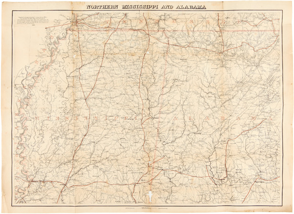 NORTHERN MISSISSIPPI AND ALABAMA. Adolph Lindenkohl.