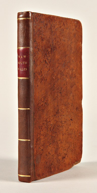 A VOYAGE TO NEW SOUTH WALES; WITH A DESCRIPTION OF THE COUNTRY; THE MANNERS, CUSTOMS, RELIGIONS, &c. OF THE NATIVES, IN THE VICINITY OF BOTANY BAY. George Barrington.