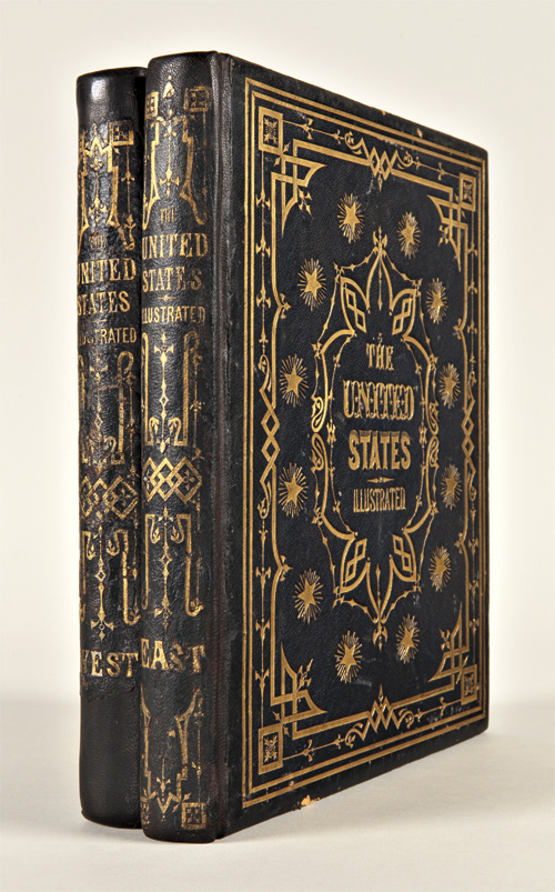 THE UNITED STATES ILLUSTRATED; IN VIEWS OF CITY AND COUNTRY. WITH DESCRIPTIVE AND HISTORICAL ARTICLES. Charles A. Dana.