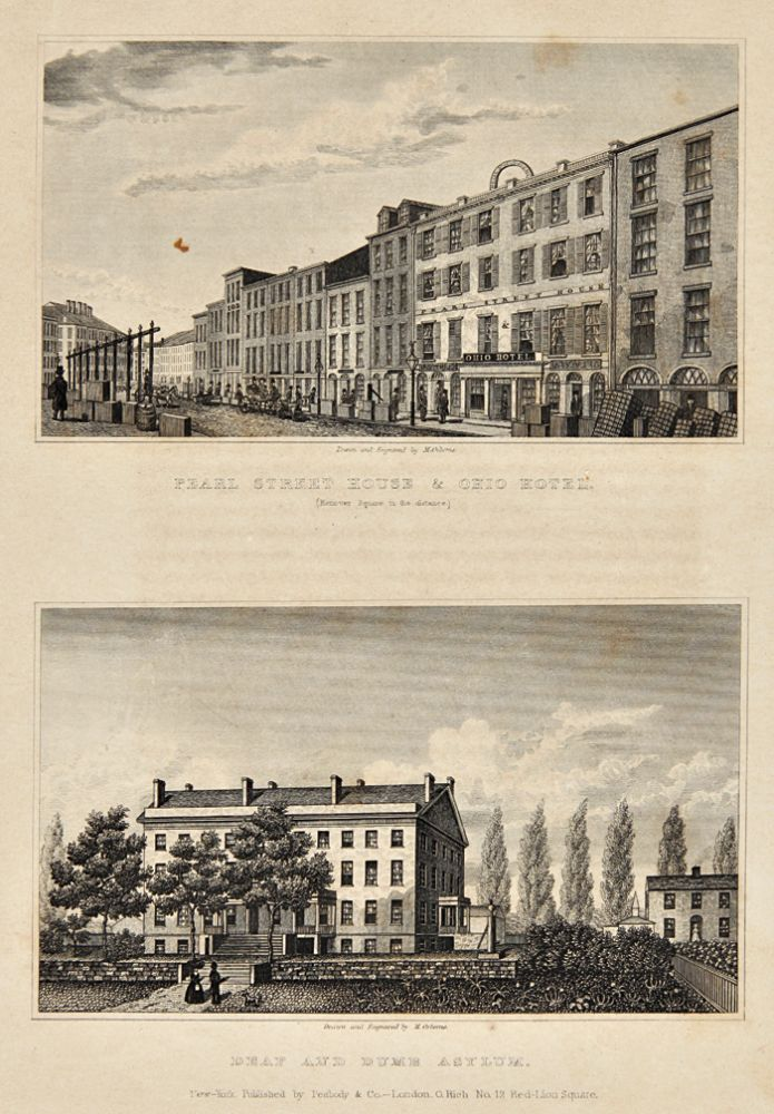 VIEWS IN NEW-YORK AND ITS ENVIRONS, FROM ACCURATE, CHARACTERISTIC & PICTURESQUE DRAWINGS, TAKEN ON THE SPOT. Theodore S. Fay.