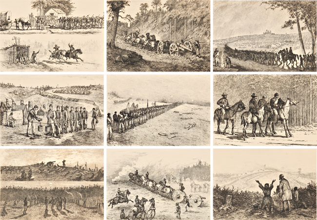 LIFE STUDIES OF THE GREAT ARMY. Edwin Forbes.
