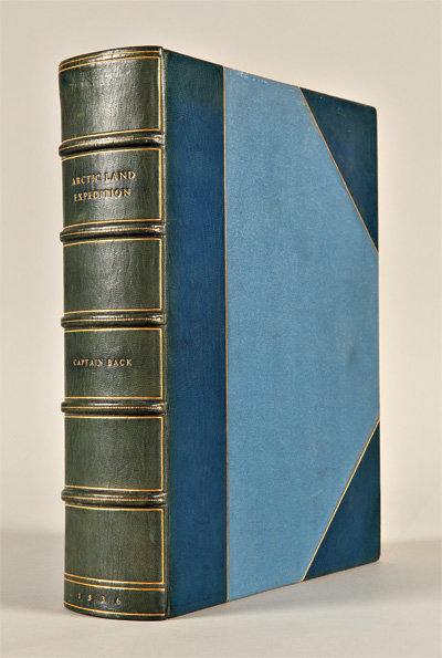NARRATIVE OF THE ARCTIC LAND EXPEDITION TO THE MOUTH OF THE GREAT FISH RIVER, AND ALONG THE SHORES OF THE ARCTIC OCEAN, IN THE YEARS 1833, 1834, AND 1835. George Back.