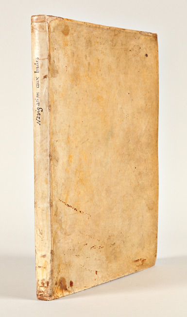 [THREE SIGNIFICANT DUTCH VOYAGES TO THE FAR EAST IN EARLY FRENCH TRANSLATIONS, BOUND TOGETHER AS ISSUED]. Willem: Neck Lodewijcksz, Olivier van, Jacob Cornelissoon van: Noort.