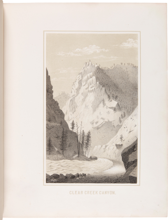 GEMS OF ROCKY MOUNTAIN SCENERY, CONTAINING VIEWS ALONG AND NEAR THE UNION PACIFIC RAILROAD. Alfred E. Mathews.