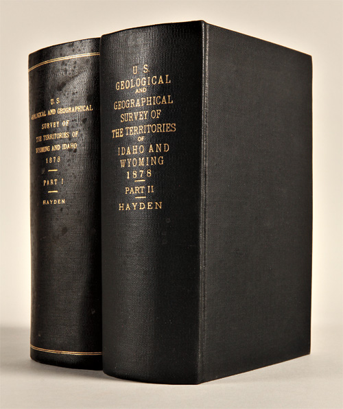 TWELFTH ANNUAL REPORT OF THE UNITED STATES GEOLOGICAL AND GEOGRAPHICAL SURVEY OF THE TERRITORIES: A REPORT OF PROGRESS OF THE EXPLORATION IN WYOMING AND IDAHO FOR THE YEAR 1878. IN TWO PARTS. Ferdinand V. Hayden.
