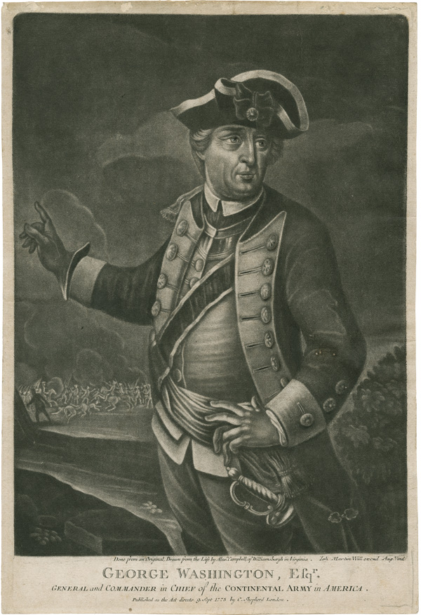 [COLLECTION OF EIGHT MEZZOTINT PORTRAITS OF AMERICAN OFFICERS AND LEADERS OF THE REVOLUTION]. American Revolution.