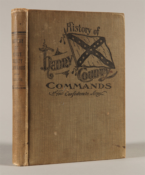 A HISTORY OF THE HENRY COUNTY COMMANDS WHICH SERVED IN THE CONFEDERATE STATE ARMY, INCLUDING ROSTERS OF THE VARIOUS COMPANIES ENLISTED IN THE HENRY COUNTY, TENN. Edwin H. Rennolds.
