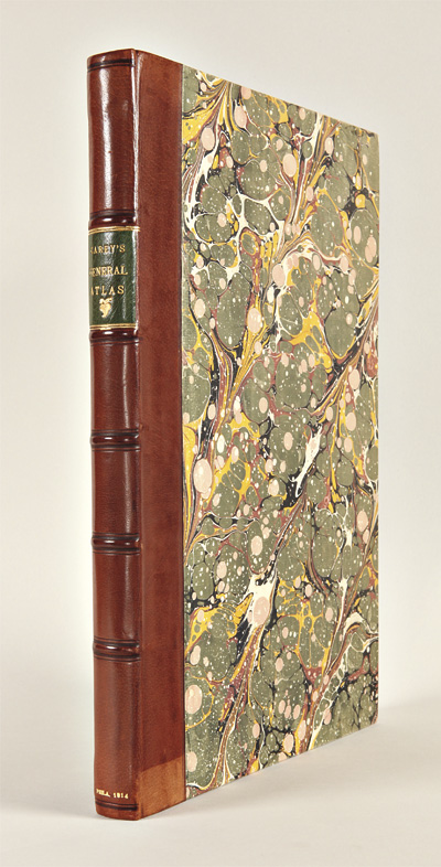 CAREY'S GENERAL ATLAS, IMPROVED AND ENLARGED: BEING A COLLECTION OF MAPS OF THE WORLD. Mathew Carey.
