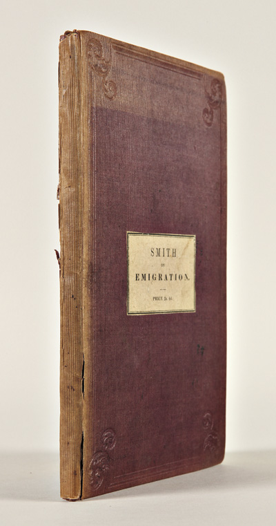 A BRIEF HISTORICAL, STATISTICAL AND DESCRIPTIVE REVIEW OF EAST TENNESSEE, UNITED STATES OF AMERICA, DEVELOPING ITS IMMENSE AGRICULTURAL, MINING, AND MANUFACTURING ADVANTAGES, WITH REMARKS TO EMIGRANTS. J. Gray Smith.