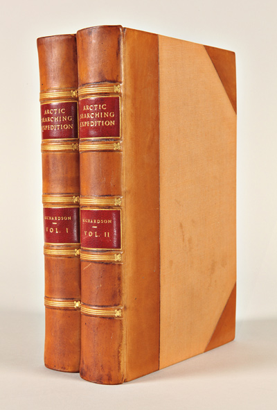 ARCTIC SEARCHING EXPEDITION: A JOURNAL OF A BOAT-VOYAGE THROUGH RUPERT'S LAND AND THE ARCTIC SEA, IN SEARCH OF THE DISCOVERY SHIPS UNDER COMMAND OF SIR JOHN FRANKLIN. Sir John Richardson.