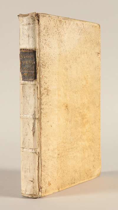 THE NARRATIVE OF THE HONOURABLE JOHN BYRON (COMMODORE IN A LATE EXPEDITION ROUND THE WORLD) CONTAINING AN ACCOUNT OF THE GREAT DISTRESSES SUFFERED BY HIMSELF AND HIS COMPANIONS ON THE COAST OF PATAGONIA, FROM THE YEAR 1740, TILL THEIR ARRIVAL IN ENGLAND, 1746. WITH A DESCRIPTION OF ST. JAGO DE CHILI, AND THE MANNERS AND CUSTOMS OF THE INHABITANTS. ALSO A RELATION OF THE LOSS OF THE WAGER MAN OF WAR, ONE OF ADMIRAL ANSON'S SQUADRON. John Byron.