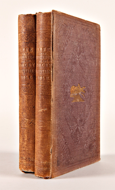 ALTOWAN; OR, INCIDENTS OF LIFE AND ADVENTURE IN THE ROCKY MOUNTAINS. By an Amateur Traveler. William Drummond Stewart.