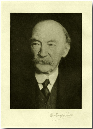 A STUDY OF THOMAS HARDY...WITH A PORTRAIT BY ALVIN COBURN. Thomas Hardy, Arthur Symons.