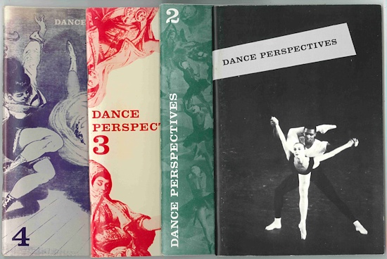 DANCE PERSPECTIVES. Dance Perspectives.