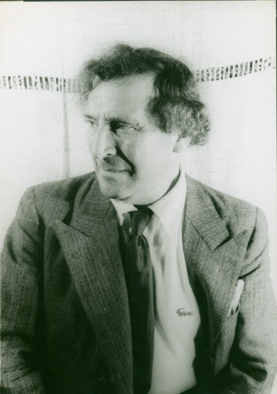 [ORIGINAL PORTRAIT PHOTOGRAPH OF MARC CHAGALL]. Marc Chagall, Carl Van Vechten.
