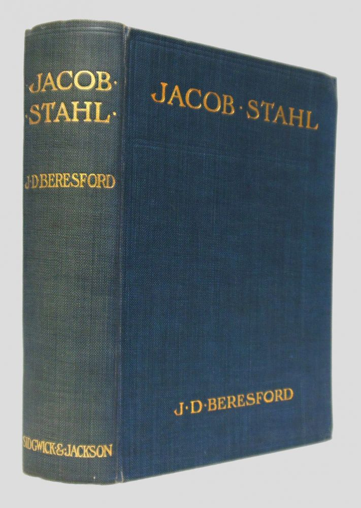 THE EARLY HISTORY OF JACOB STAHL. J. D. Beresford.