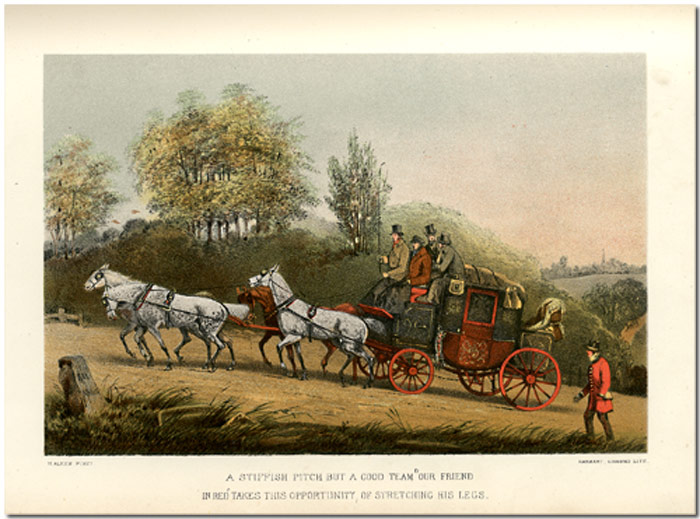 'DOWN THE ROAD' OR REMINISCENCES OF A GENTLEMAN COACHMAN. Henry Alken, C. T. S. Birch Reynardson.