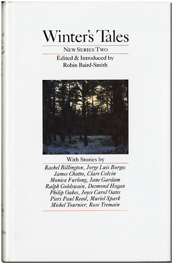 WINTER'S TALES NEW SERIES: 2. Anthology, Robin Baird-Smith, ed.