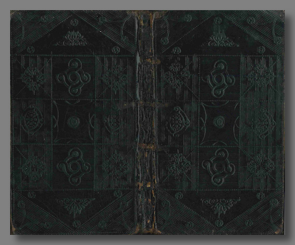 [Extract:] PRIVATE DEVOTIONS FOR SEVERAL OCCASIONS, ORDINARY AND EXTRAORDINARY. Binding - Blindstamped - 18th century, Richard Allestree.