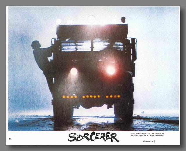 [Set of Color Mini Lobby Cards for:] SORCERER. Georges Arnaud, sourcework.