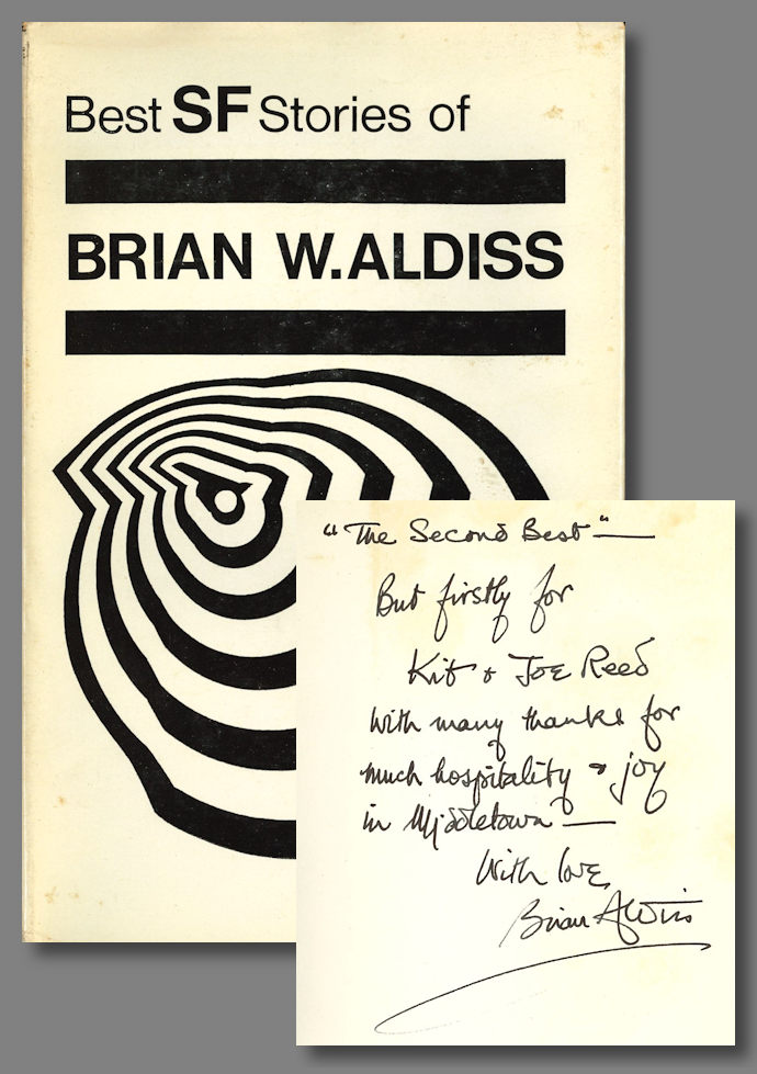 BEST SCIENCE FICTION STORIES OF. Brian Aldiss.