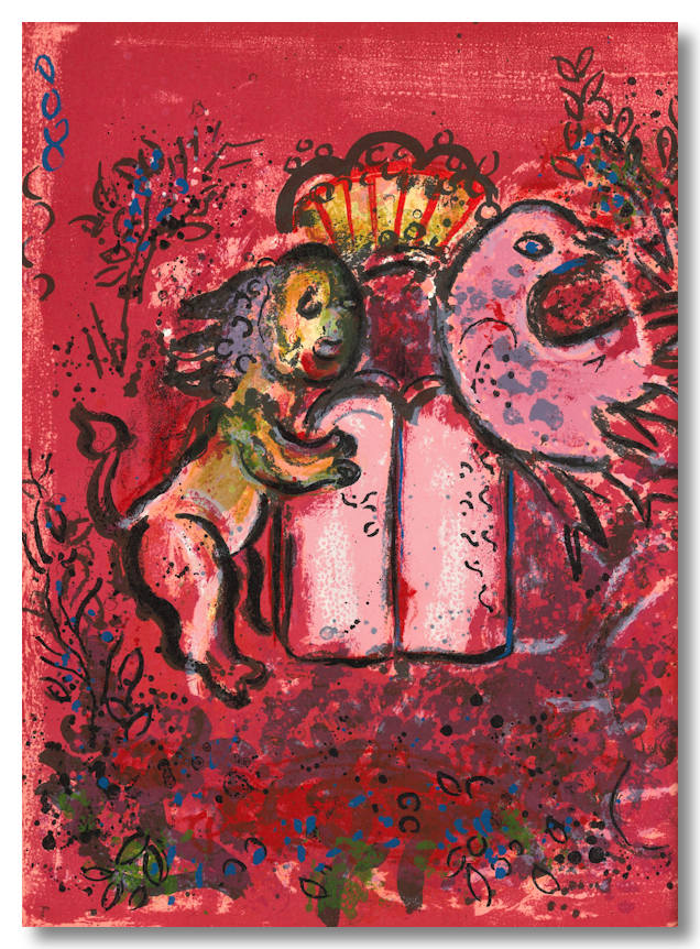 THE JERUSALEM WINDOWS. text, notes, Marc Chagall, Jean Leymarie.