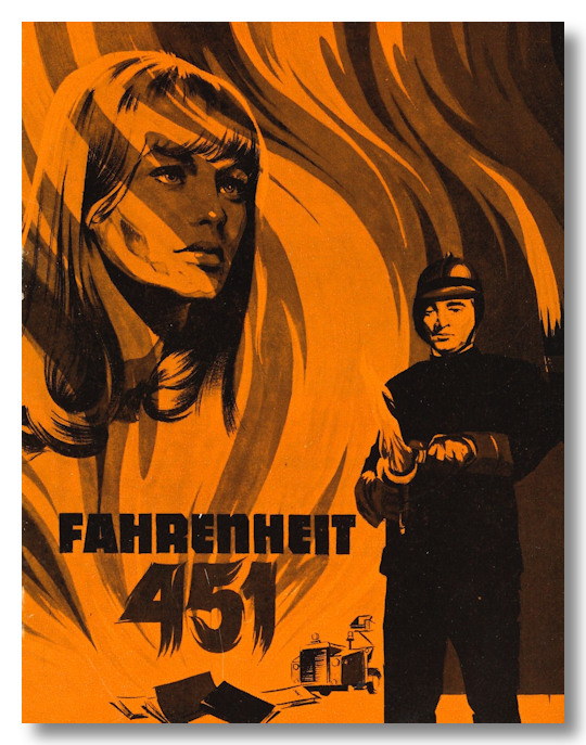 [Danish Program for:] FAHRENHEIT 451. Ray Bradbury, sourcework.