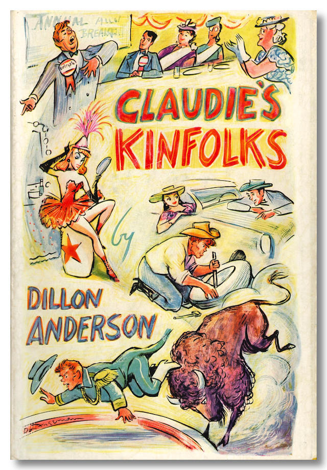 CLAUDIE'S KINFOLKS. Dillon Anderson.