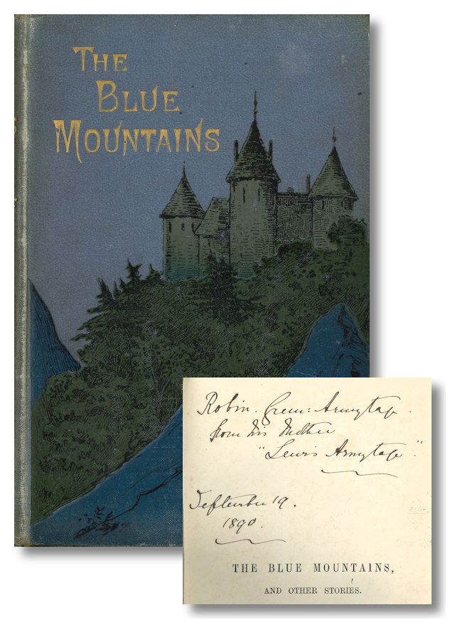 THE BLUE MOUNTAINS AND OTHER STORIES FOR CHILDREN. Lewis Armytage, pseud. of Rose Mabel Lewis.