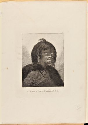 A WOMAN OF PRINCE WILLIAM'S SOUND. Cook's Third Voyage