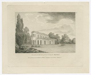 MONTIBELLO THE SEAT OF GENL. S. SMITH MARYLAND. Thomas Birch