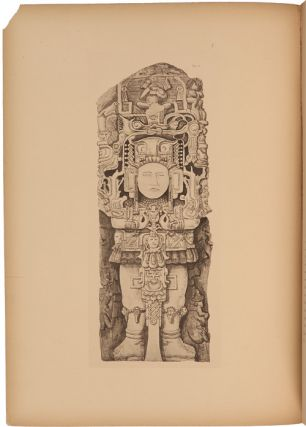 THE STONE SCULPTURES OF COPAN AND QUIRIGUA, Drawn by Heinrich Meye....