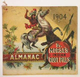 ALMANAC DR. MORSE'S INDIAN ROOT PILLS [wrapper title]. W. H. Comstock Co