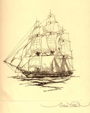 THE BOOK OF OLD SHIPS AND SOMETHING OF THEIR EVOLUTION AND ROMANCE. Henry B. Culver