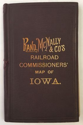 MAP OF IOWA PREPARED AND PRINTED FOR THE RAILROAD COMMISSIONERS.