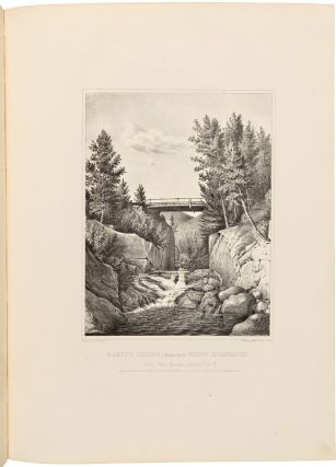 SCENERY OF THE WHITE MOUNTAINS: WITH SIXTEEN PLATES, FROM THE DRAWINGS OF ISAAC SPRAGUE.